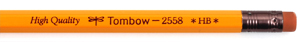 Tombow 2558 Pencils