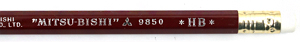 Uni Mitsubishi 9850 Pencil