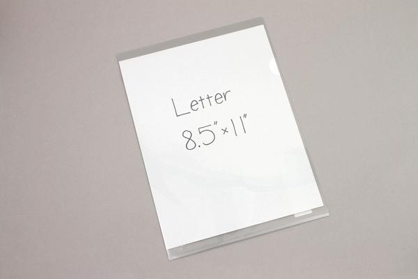 Kokuyo Clear Folder - Super Clear 10 - A4 - Smoke - KOKUYO FU-TC750N-1