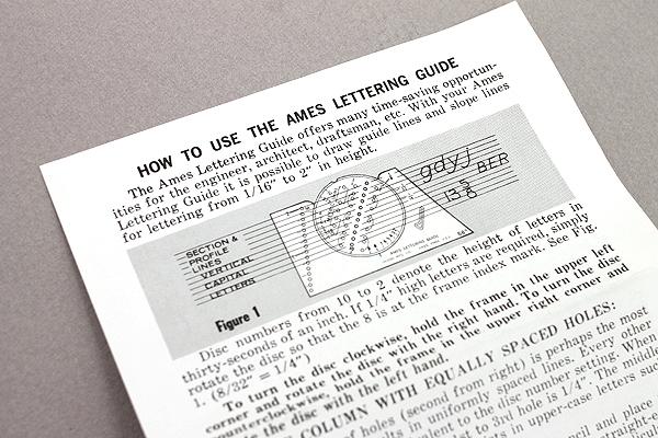 Staedtler Ames Lettering Guide - STAEDTLER 974 98