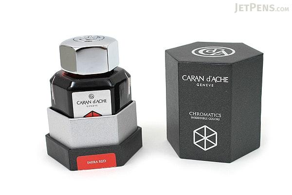 Caran d'Ache Infra Red Ink - Chromatics - 50 ml Bottle - CARAN D'ACHE 8011.070