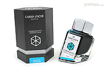 Caran d'Ache Hypnotic Turquoise Ink - Chromatics - 50 ml Bottle - CARAN D'ACHE 8011.191