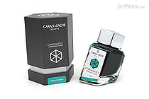 Caran d'Ache Vibrant Green Ink - Chromatics - 50 ml Bottle - CARAN D'ACHE 8011.210
