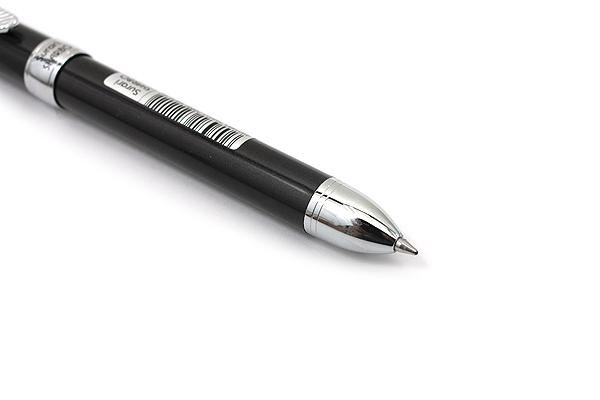 Zebra Surari Sharbo 1000 2 Color 0.7 mm Ballpoint Multi Pen + 0.5 mm Pencil - Black Body - ZEBRA SB26-BK