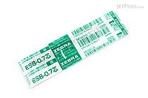 Zebra ESB-0.7 Emulsion Ink Ballpoint Pen Refill - D1 - 0.7 mm - Green - ZEBRA RESB7-G
