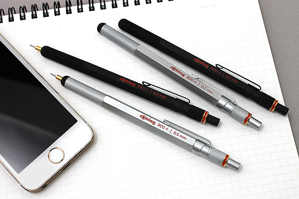 Rotring 800+ Drafting Pencil + Stylus Hybrid - 0.5 mm - Black Body - ROTRING 1900181