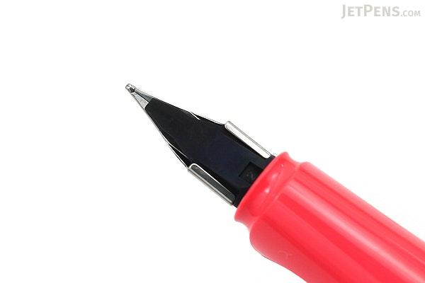 Lamy Safari Fountain Pen - Neon Coral - Medium Nib - Limited Edition - LAMY L41M