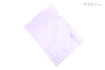 Kokuyo Clear Folder - Super Clear 10 - A4 - Light Violet - KOKUYO FU-TC750N-4