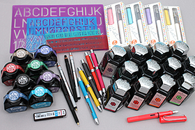 New Products: Colorful Inks, Fountain Pens, Letter Guides, Multi Pens and More!