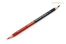 Uni Mitsubishi Vermilion and Prussian Blue Pencil - 5:5 - Hexagonal Body - UNI K772