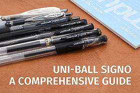 Uni-ball Signo: A Comprehensive Guide