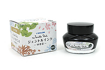 Sailor Fountain Pen Jentle Ink - 50 ml - Four Seasons - Miruai (Seaweed Indigo - Dark Blue Green) - SAILOR 13-1005-204