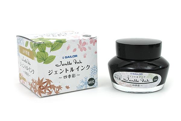 Sailor Fountain Pen Jentle Ink - 50 ml - Four Seasons - Miruai (Seaweed Indigo - Dark Blue Green) - SAILOR 13-1005-204