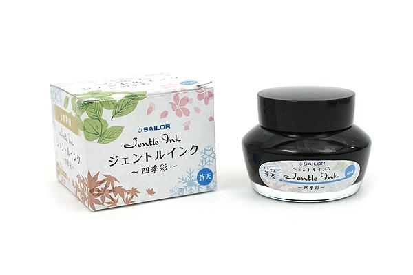 Sailor Fountain Pen Jentle Ink - 50 ml - Four Seasons - Souten (Azure Sky - Blue) - SAILOR 13-1005-205
