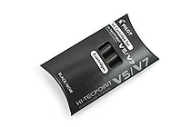 Pilot V5/V7 Hi-Tecpoint Roller Ball Pen Ink Cartridge - Black - Pack of 3 - PILOT BXS-IC-B-S3
