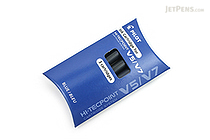 Pilot V5/V7 Hi-Tecpoint Roller Ball Pen Ink Cartridge - Blue - Pack of 3 - PILOT BXS-IC-L-S3