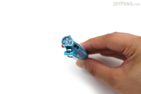 Zebra Sarasa 3 3 Color Gel Ink Multi Pen - 0.5 mm - Light Blue Body - ZEBRA J3J2-LB