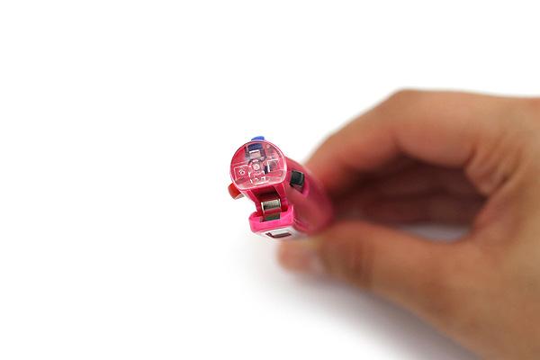 Zebra Sarasa 3 3 Color Gel Ink Multi Pen - 0.5 mm - Pink Body - ZEBRA J3J2-P