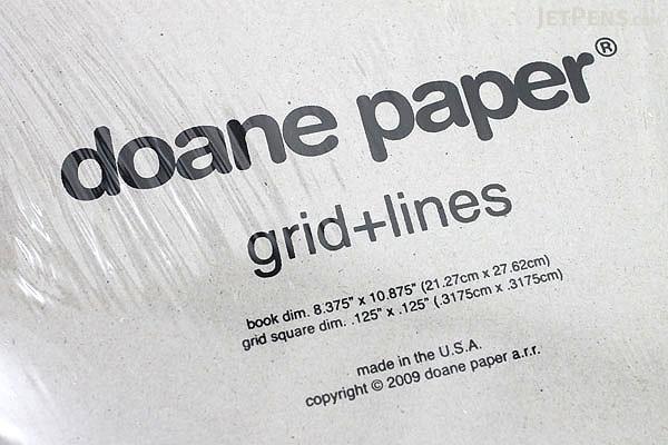 Doane Paper Grid + Lines Idea Journal - Large - DOANE PAPER 001