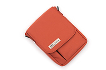Lihit Lab Smart Fit Carrying Pouch - A6 - Orange - LIHIT LAB A-7574-4