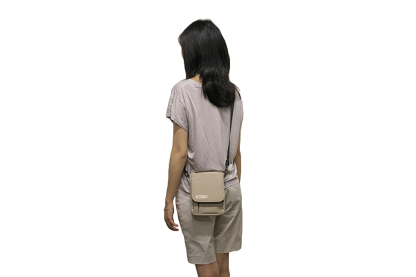 Lihit Lab Smart Fit Carrying Pouch - A6 - Beige - LIHIT LAB A-7574-16