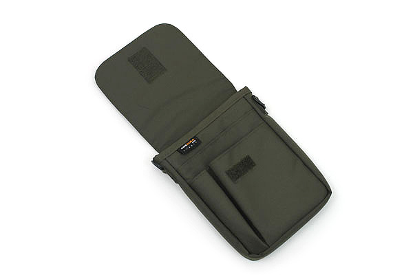 Lihit Lab Smart Fit Carrying Pouch - A6 - Olive - LIHIT LAB A-7574-22