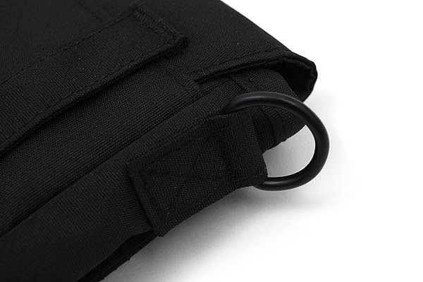 Lihit Lab Smart Fit Carrying Pouch - A6 - Black - LIHIT LAB A-7574-24