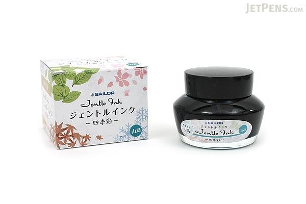 Sailor Jentle Yama-dori Ink (Copper Pheasant) - Four Seasons - 50 ml Bottle - SAILOR 13-1005-207