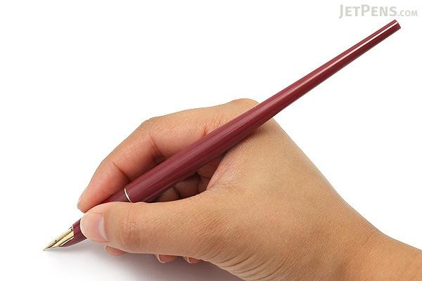 Pilot Desk Fountain Pen - DPN-70 - Red - Extra Fine Nib - PILOT DPN-70-REF