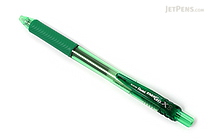 Pentel EnerGel X Needle-Point Retractable Gel Pen - 0.5 mm - Green - PENTEL BLN105-D