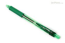 Pentel EnerGel X Needle-Point Retractable Gel Pen - 0.5 mm - Green - PENTEL BLN105-D