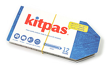 Rikagaku Kitpas Wet-Erase Crayon - Holder - 12 Color Set - RIKAGAKU KHL-12C