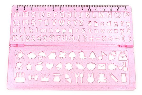 Kutsuwa Stad Template Double - Pink - KUTSUWA KB009PK