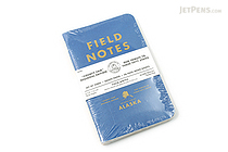 "Field Notes Color Cover Memo Book - County Fair - 3.5"" x 5.5"" - 48 Pages - 5 mm Graph - Pack of 3 - Alaska - FIELD NOTES FN-01A-AK"