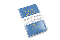 "Field Notes Color Cover Memo Book - County Fair - 3.5"" x 5.5"" - 48 Pages - 5 mm Graph - Pack of 3 - Arkansas - FIELD NOTES FN-01A-AR"