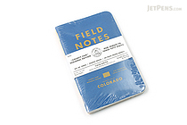"Field Notes Color Cover Memo Book - County Fair - 3.5"" x 5.5"" - 48 Pages - 5 mm Graph - Pack of 3 - Colorado - FIELD NOTES FN-01A-CO"