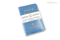 "Field Notes Color Cover Memo Book - County Fair - 3.5"" x 5.5"" - 48 Pages - 5 mm Graph - Pack of 3 - Connecticut - FIELD NOTES FN-01A-CT"