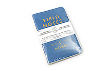 "Field Notes Color Cover Memo Book - County Fair - 3.5"" x 5.5"" - 48 Pages - 5 mm Graph - Pack of 3 - Delaware - FIELD NOTES FN-01A-DE"