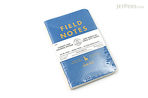 "Field Notes Color Cover Memo Book - County Fair - 3.5"" x 5.5"" - 48 Pages - 5 mm Graph - Pack of 3 - Idaho - FIELD NOTES FN-01A-ID"