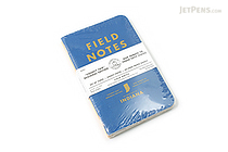 "Field Notes Color Cover Memo Book - County Fair - 3.5"" x 5.5"" - 48 Pages - 5 mm Graph - Pack of 3 - Indiana - FIELD NOTES FN-01A-IN"