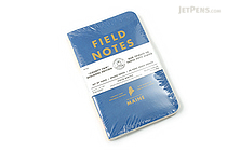"Field Notes Color Cover Memo Book - County Fair - 3.5"" x 5.5"" - 48 Pages - 5 mm Graph - Pack of 3 - Maine - FIELD NOTES FN-01A-ME"