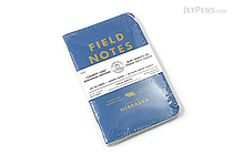 "Field Notes Color Cover Memo Book - County Fair - 3.5"" x 5.5"" - 48 Pages - 5 mm Graph - Pack of 3 - Nebraska - FIELD NOTES FN-01A-NE"