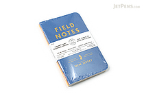"Field Notes Color Cover Memo Book - County Fair - 3.5"" x 5.5"" - 48 Pages - 5 mm Graph - Pack of 3 - New Jersey - FIELD NOTES FN-01A-NJ"