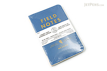 "Field Notes Color Cover Memo Book - County Fair - 3.5"" x 5.5"" - 48 Pages - 5 mm Graph - Pack of 3 - Nevada - FIELD NOTES FN-01A-NV"