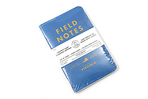 "Field Notes Color Cover Memo Book - County Fair - 3.5"" x 5.5"" - 48 Pages - 5 mm Graph - Pack of 3 - Virginia - FIELD NOTES FN-01A-VA"
