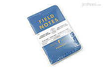 "Field Notes Color Cover Memo Book - County Fair - 3.5"" x 5.5"" - 48 Pages - 5 mm Graph - Pack of 3 - Vermont - FIELD NOTES FN-01A-VT"