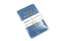 "Field Notes Color Cover Memo Book - County Fair - 3.5"" x 5.5"" - 48 Pages - 5 mm Graph - Pack of 3 - Washington - FIELD NOTES FN-01A-WA"