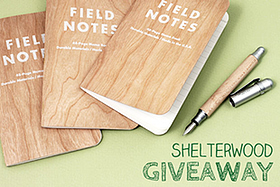 Pen Perks: Shelterwood Giveaway