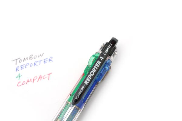 Tombow Reporter 4 Compact Ballpoint Multi Pen - 0.7 mm - Cheerful Yellow Body - TOMBOW BC-FSRC53