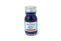 J. Herbin Fountain Pen Ink - 10 ml Bottle - Bleu Azur (Azure Blue) - J. HERBIN H115/12